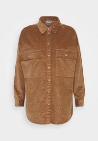 NMFLANNY SHACKET PETITE - Summer jacket - toasted coconut