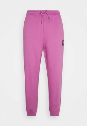 PANTS UNISEX - Tracksuit bottoms - light purple