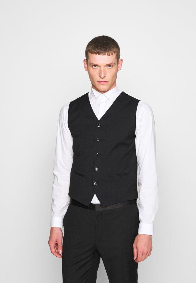 JPRBLAFRANCO WAISTCOAT - Waistcoat - black