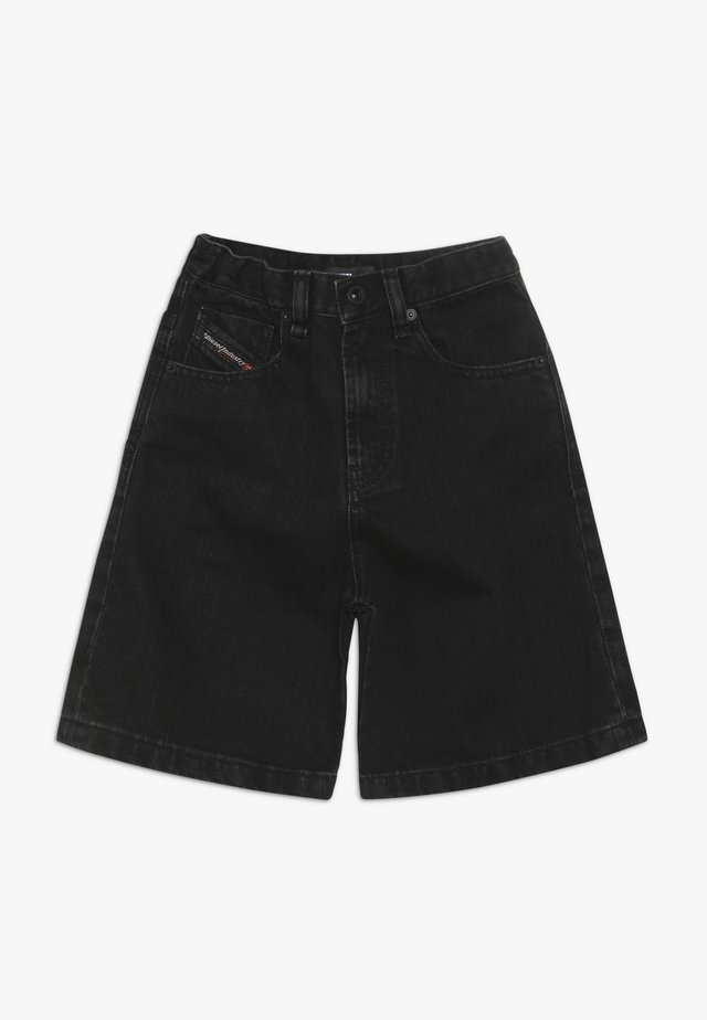 PBRON - Shorts di jeans - denim nero
