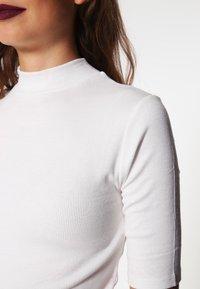 Modström - KROWN - Basic T-shirt - white - 3