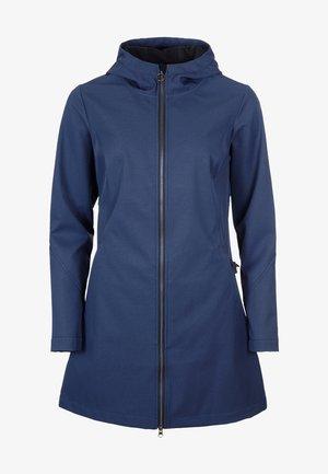 SOFTSKILLS - Soft shell jacket - darkblue