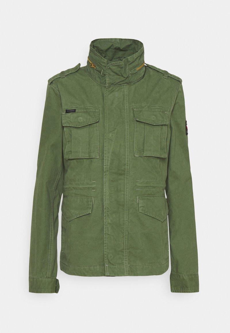 Superdry - JACKET - Summer jacket - olive