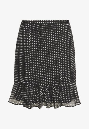 FRANCIS CHARMING SKIRT - Minirok - black