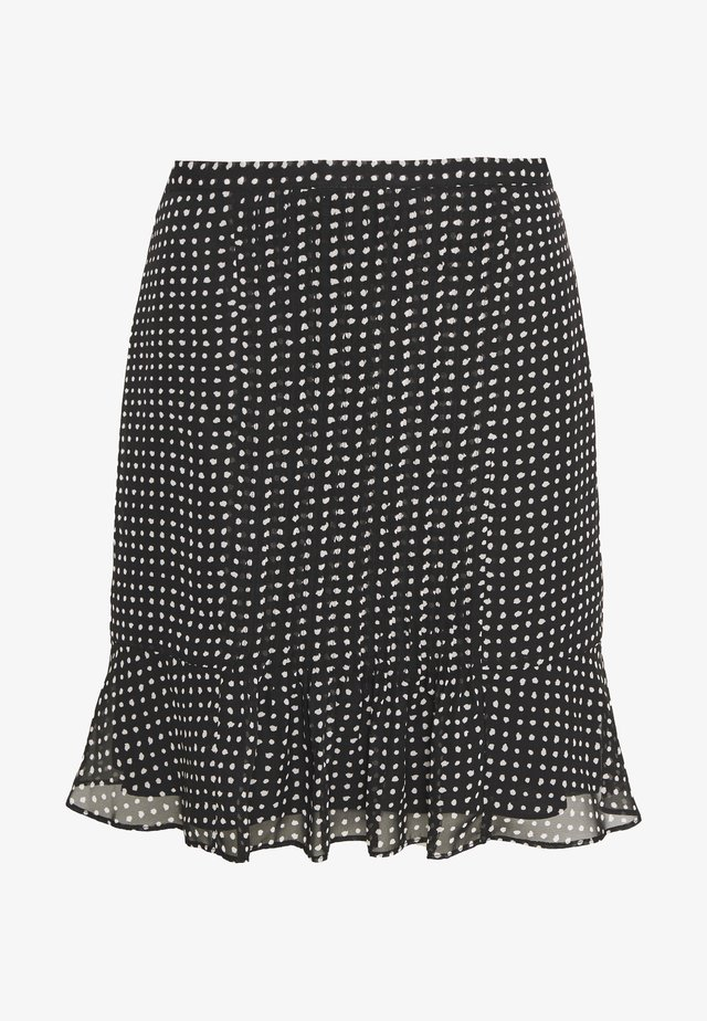 FRANCIS CHARMING SKIRT - Minifalda - black