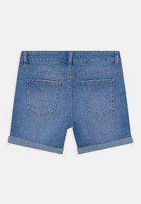 Marks & Spencer London - ROLL UP - Denim shorts - blue denim - 1