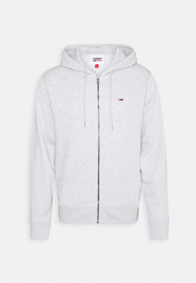 BASKETBALL GRAPHIC  - veste en sweat zippée - silver grey heather