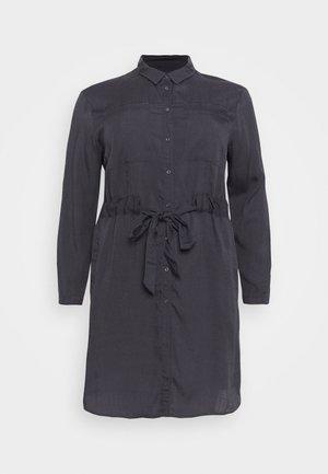 CARSABA LIFE KNEE DRESS - Kjole - asphalt heavy wash