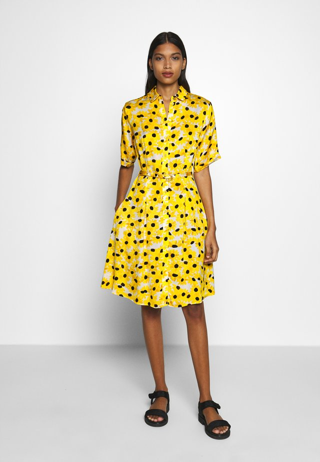 MILA DRESS - Skjortekjole - sunny flowers