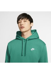 Nike Sportswear - CLUB HOODIE - Hættetrøjer - mystic green/mystic green/white - 3