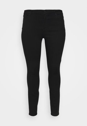 VMTANYA PIPING - Jeans Skinny Fit - black