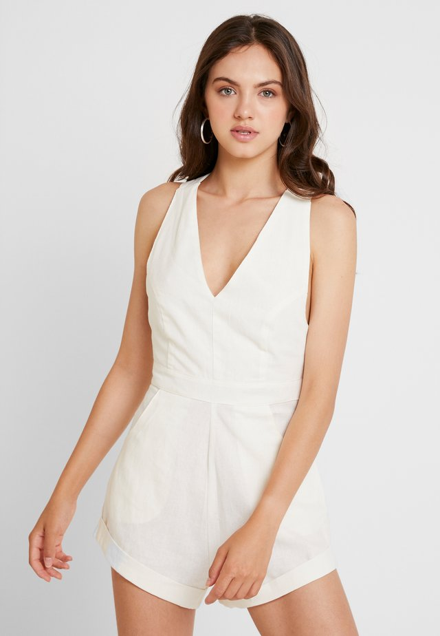 WEEKEND ROMPER - Tuta jumpsuit - cream