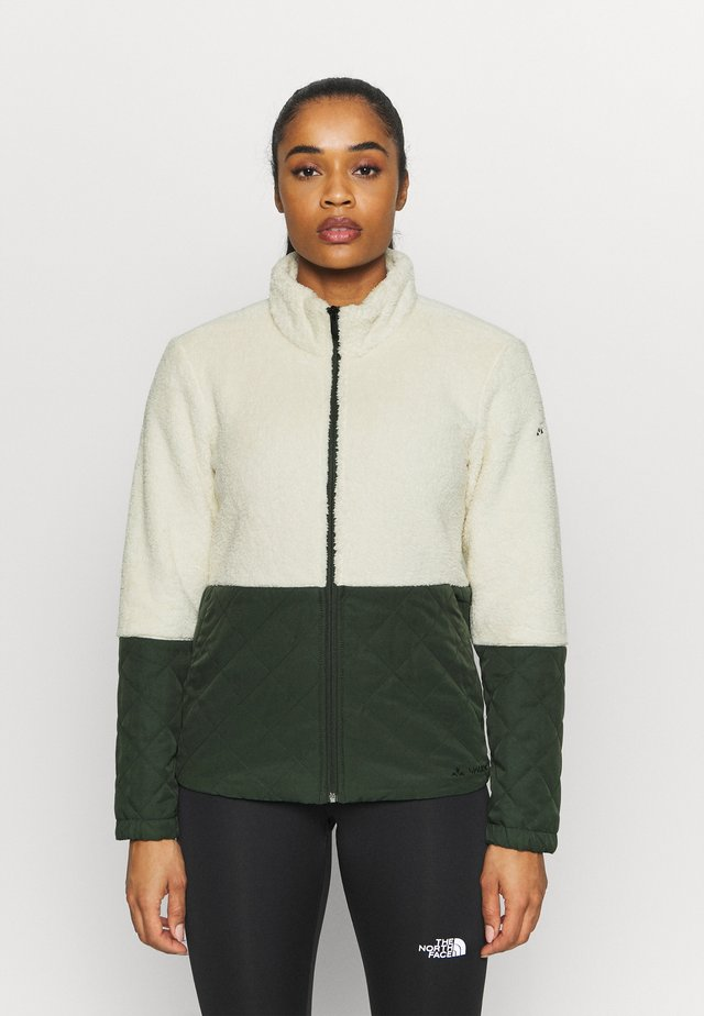 WOMENS MANUKAU JACKET - Fleece jacket - ecru