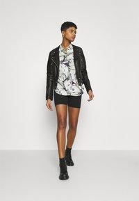 Diesel - L-IGE-NEW-A - Leather jacket - black - 1