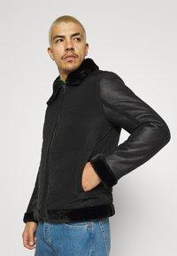 Brave Soul - CAESAR - Faux leather jacket - black - 3