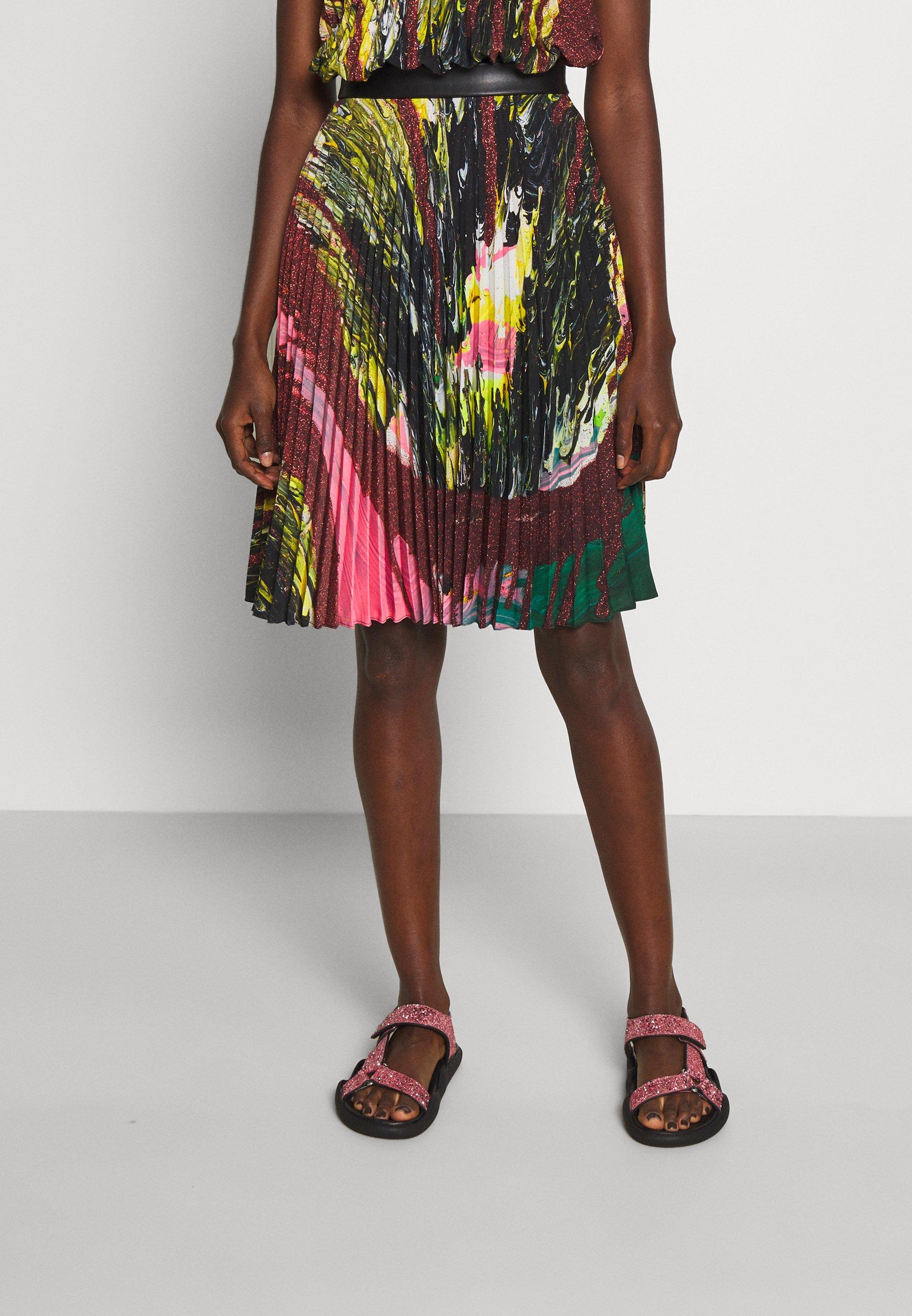 Femme MINDSCAPE PLEATED SKIRT - Jupe plissée
