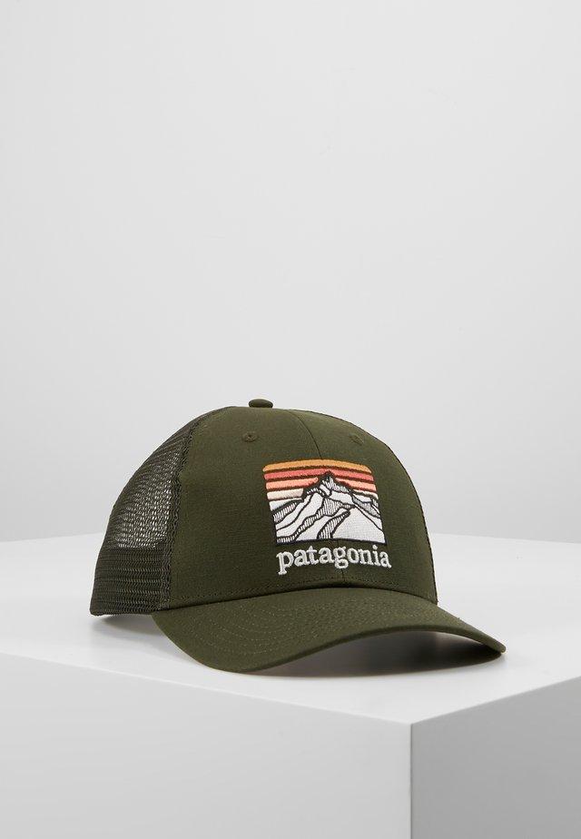 LINE LOGO RIDGE LOPRO TRUCKER HAT - Caps - kelp forest