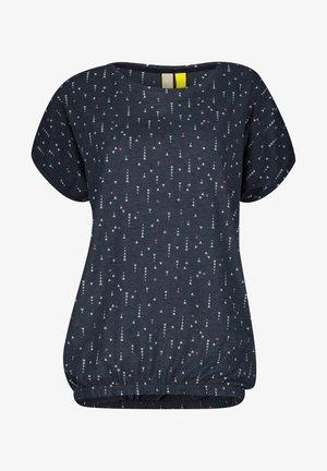 SUNAK  - Print T-shirt - marine