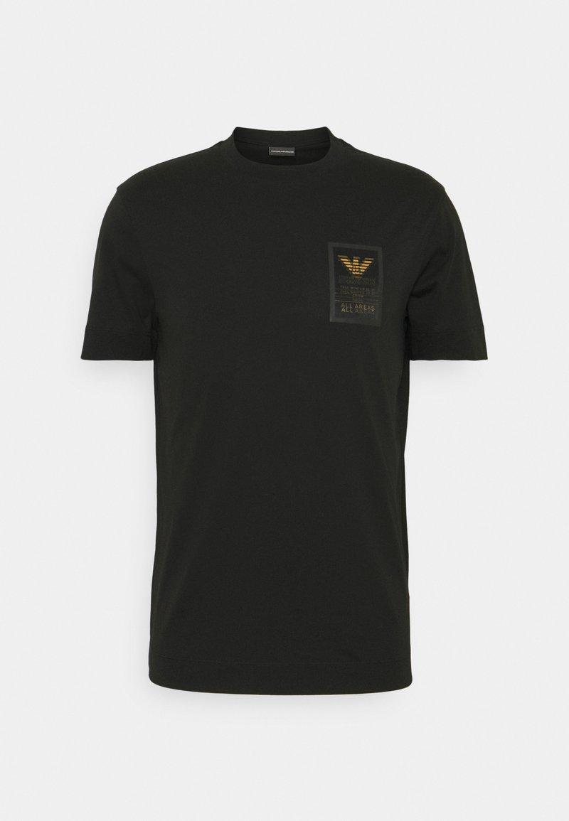 Emporio Armani - T-shirt imprimé - black