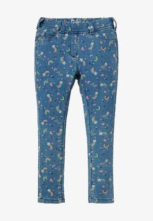 Trousers - denim-blue