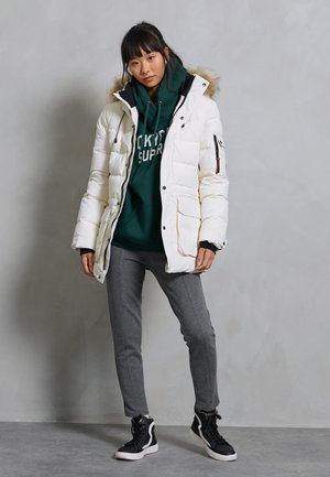 Down jacket - ecru
