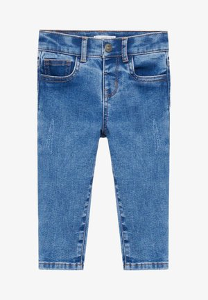 NORDIC - Slim fit jeans - middenblauw