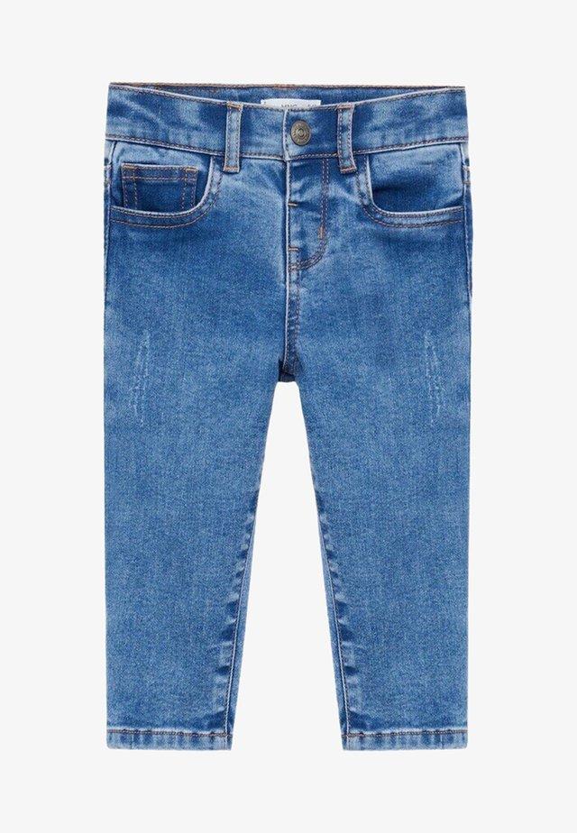 NORDIC - Slim fit jeans - middenblauw
