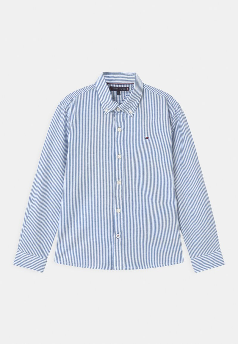 Tommy Hilfiger - ITHACA STRIPE  - Shirt - blue