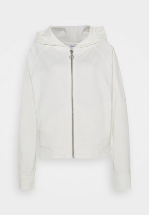 Zip-up hoodie - scandinavian white