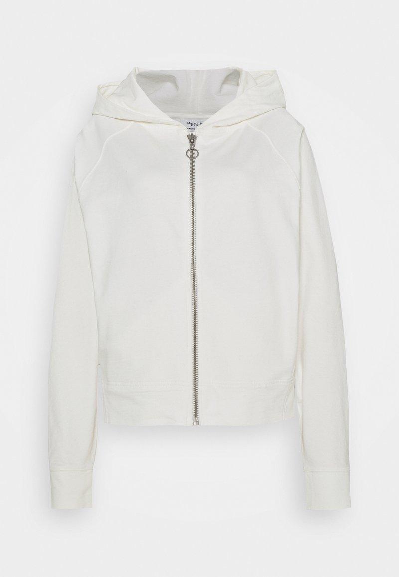Marc O'Polo DENIM - Zip-up hoodie - scandinavian white