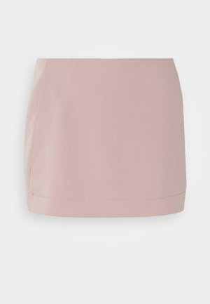 SKIRT - Mini skirt - dusty pink