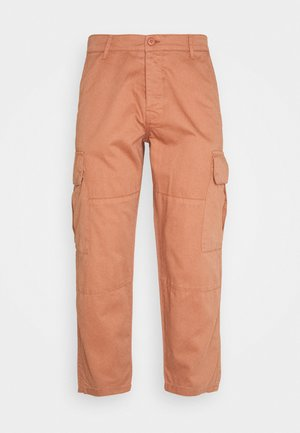 JOSEPH TROUSERS - Cargo trousers - peach