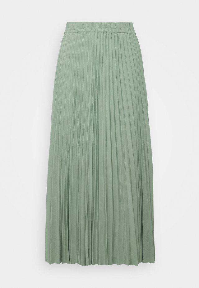 SLFALEXIS SKIRT - Falda acampanada - light green