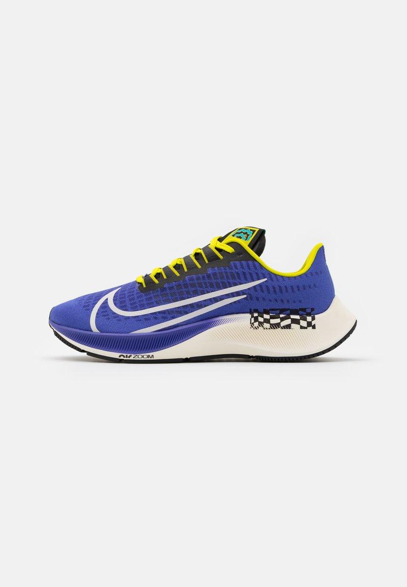 Nike Performance - AIR ZOOM PEGASUS 37 AS UNISEX - Neutral running shoes - rush violet/sail/black/bright cactus/baltic blue/team orange
