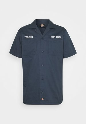 HALMA - Shirt - navy blue