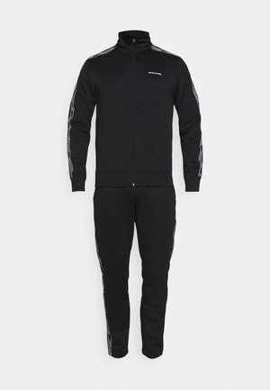 JCOZTAPING TRACK SUIT - Tracksuit - black