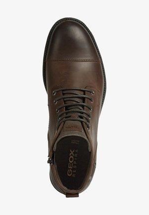 JAYLON - Lace-up ankle boots - dk coffee