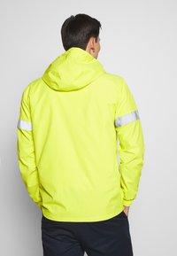 INDICODE JEANS - COLLEGE - Windbreaker - neon yellow - 2