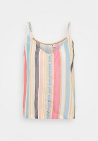 O'Neill - TANKTOP V NECK MIX MATCH - Top - yellow/red - 0