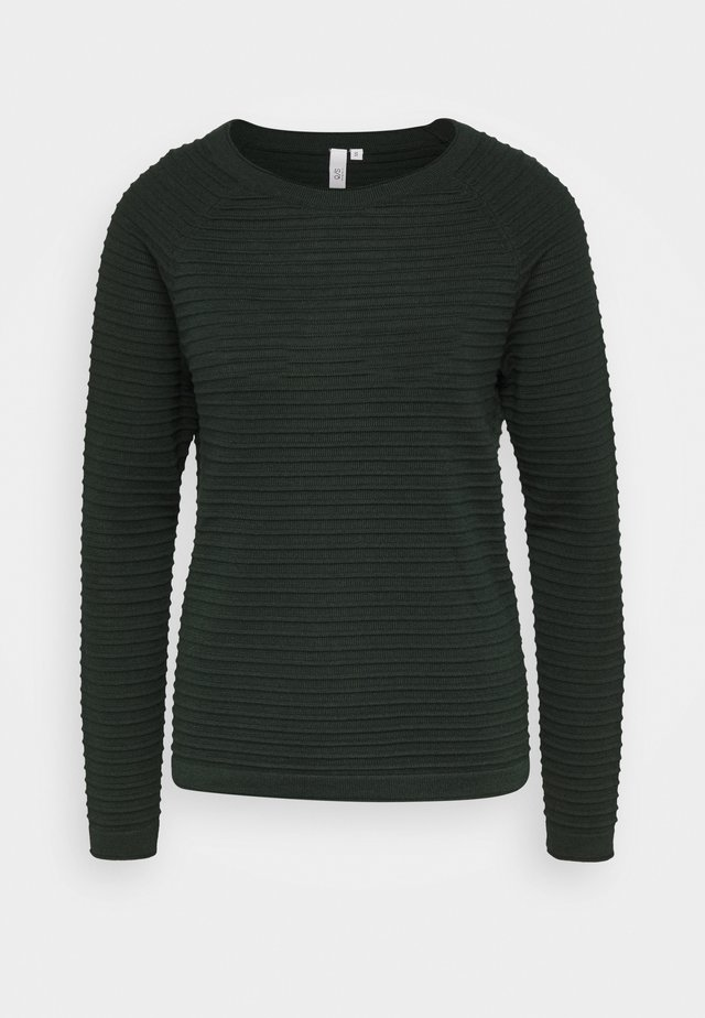Jersey de punto - dark green