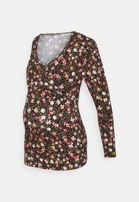 LOVE2WAIT - NURSING  - Long sleeved top - brown - 4