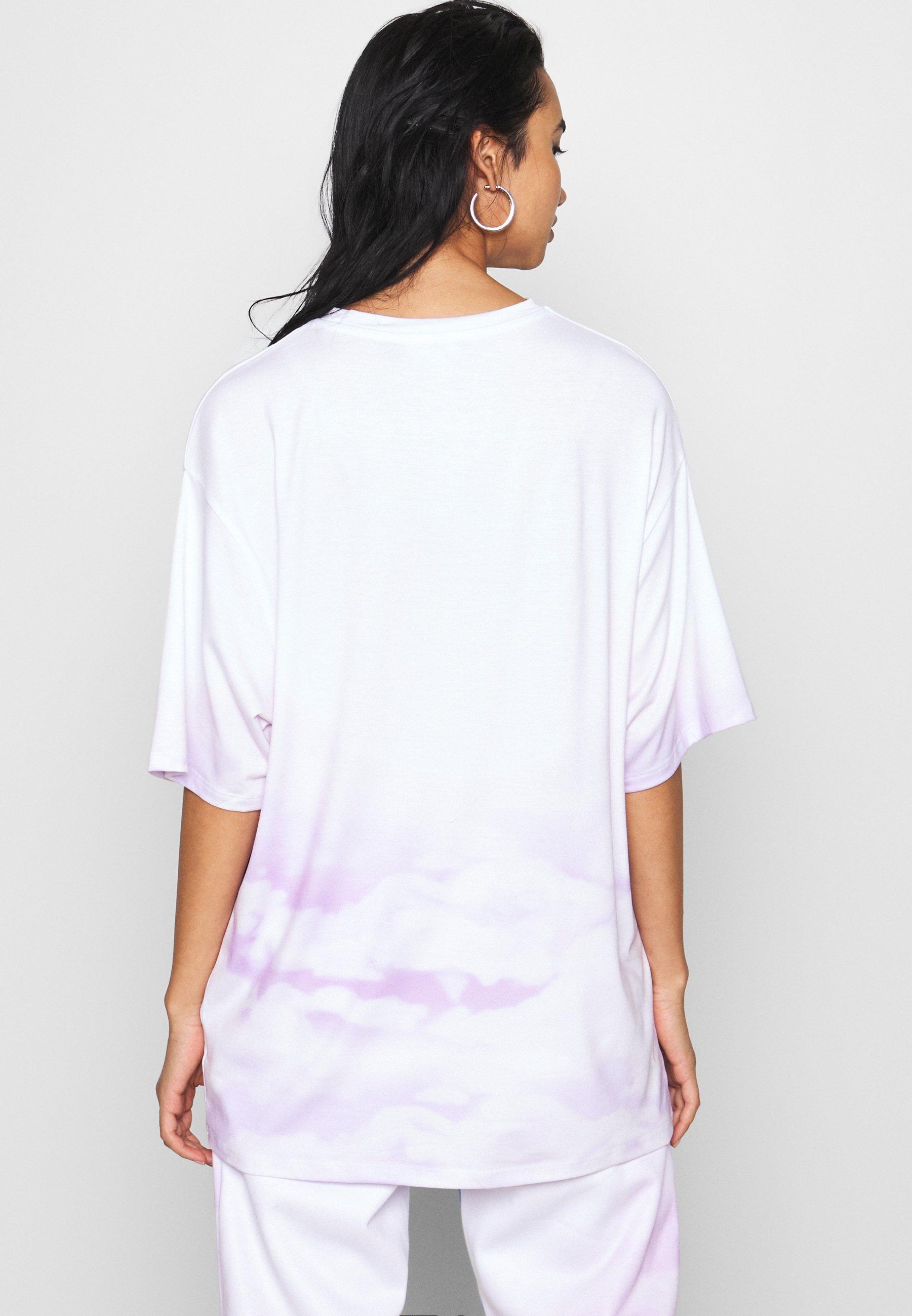 Jaded London OVERSIZED FANTASY HEART SCENE - T-shirt imprimé - multi - Tops & T-shirts Femme UDvNq