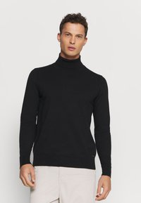 INDICODE JEANS - BURNS - Sweter - black - 0