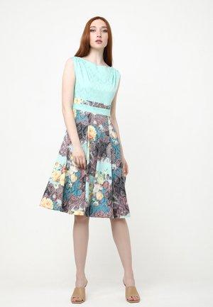 ARGENTINA - Day dress - aqua, gelb