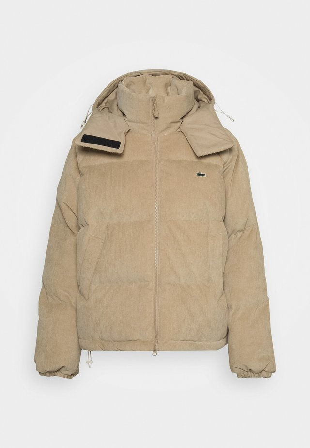 Down jacket - oats