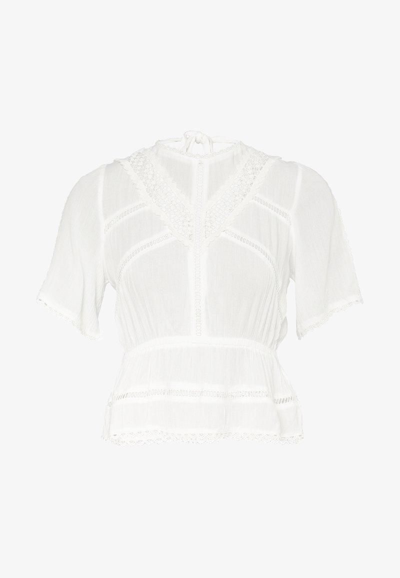 Miss Selfridge Petite - TRIM TEE - Bluzka - white