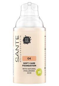 Sante - SOFT CARE FOUNDATION - Fondotinta - 04 warm honey - 1