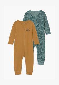 Name it - NBMNIGHTSUIT 2 PACK UNISEX - Pyjama - trellis - 0