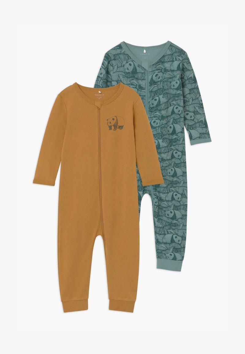 Name it - NBMNIGHTSUIT 2 PACK UNISEX - Pyjama - trellis