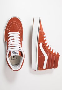 Vans - SK8 - Baskets montantes - picante/true white - 1